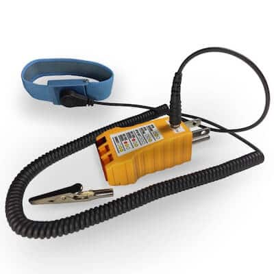 Ohm Stat Earth Ground Checker With Jack To Ground Wrist
