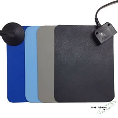 """esd mat in 3 colors at .06"""" thick"""
