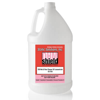 1 Gallon (4 Gallons per case) ESD Mat Floor Cleaner
