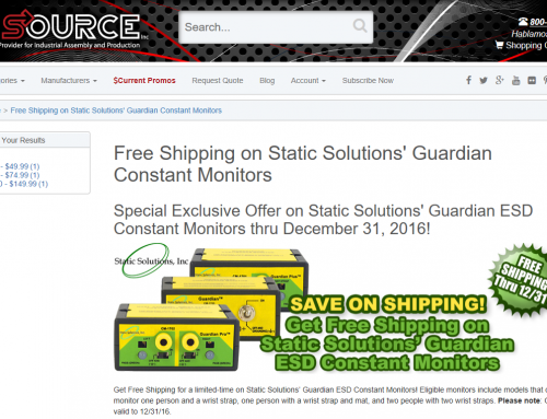 QSource Offers Free Shipping On Guardian Constant Monitors