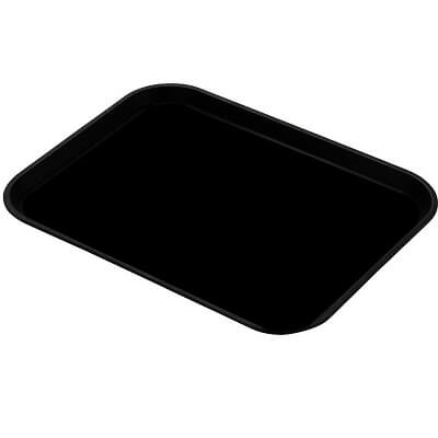 "This ESD tray liner black color anti static material is perfect for your tray liners that are 16"" x 24""."